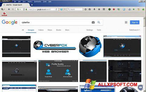 Ảnh chụp màn hình Cyberfox cho Windows XP