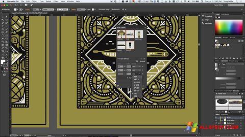 Ảnh chụp màn hình Adobe Illustrator cho Windows XP