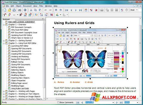 Ảnh chụp màn hình Foxit Advanced PDF Editor cho Windows XP
