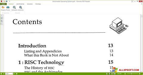 Ảnh chụp màn hình Hamster PDF Reader cho Windows XP