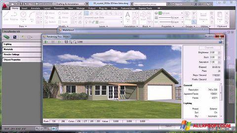 Ảnh chụp màn hình AutoCAD cho Windows XP