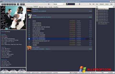 Ảnh chụp màn hình Foobar2000 cho Windows XP