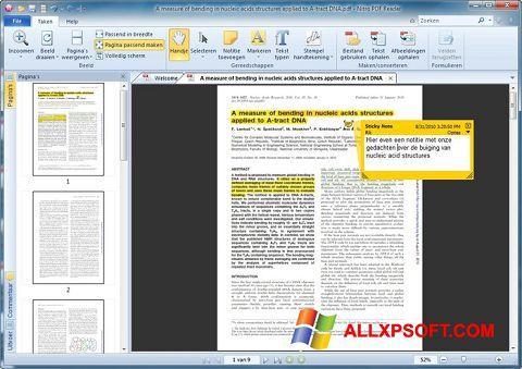 Ảnh chụp màn hình Nitro PDF Reader cho Windows XP