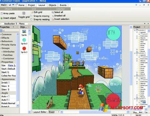 Ảnh chụp màn hình Construct Classic cho Windows XP