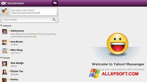 Ảnh chụp màn hình Yahoo! Messenger cho Windows XP