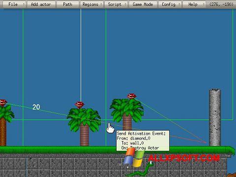 Ảnh chụp màn hình Game Editor cho Windows XP