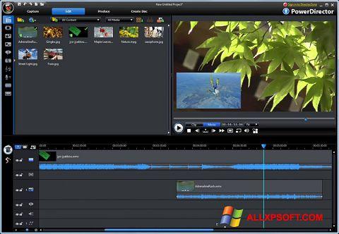 Ảnh chụp màn hình CyberLink PowerDirector cho Windows XP