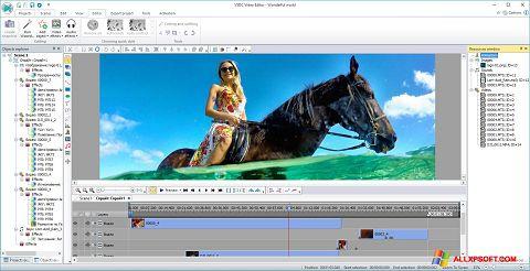 Ảnh chụp màn hình Free Video Editor cho Windows XP