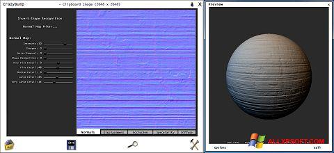 Ảnh chụp màn hình CrazyBump cho Windows XP