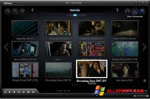 Ảnh chụp màn hình KMPlayer cho Windows XP
