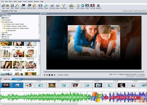 Ảnh chụp màn hình ProShow Gold cho Windows XP