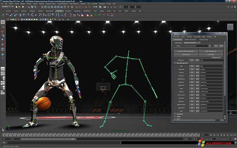 Ảnh chụp màn hình Autodesk Maya cho Windows XP