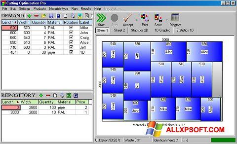 Ảnh chụp màn hình Cutting cho Windows XP