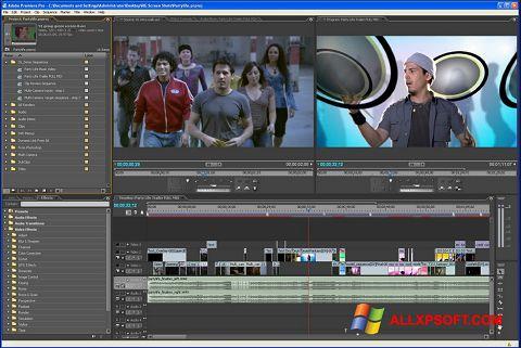 Ảnh chụp màn hình Adobe Premiere Pro cho Windows XP