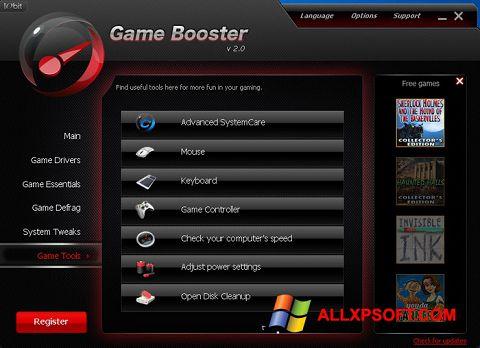 Ảnh chụp màn hình Game Booster cho Windows XP