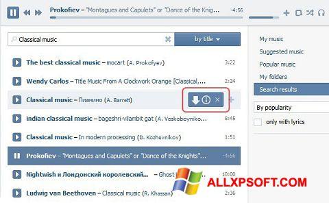 Ảnh chụp màn hình SaveFrom.net cho Windows XP