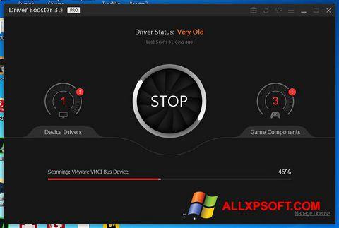 Ảnh chụp màn hình Driver Booster cho Windows XP