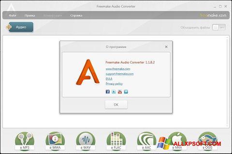 Ảnh chụp màn hình Freemake Audio Converter cho Windows XP