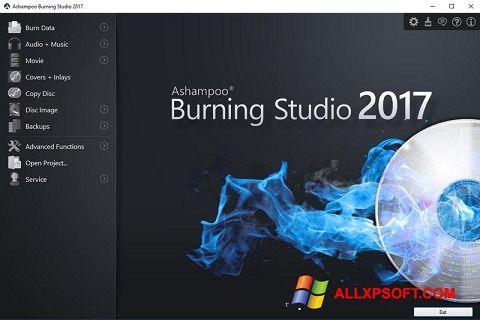 Ảnh chụp màn hình Ashampoo Burning Studio cho Windows XP